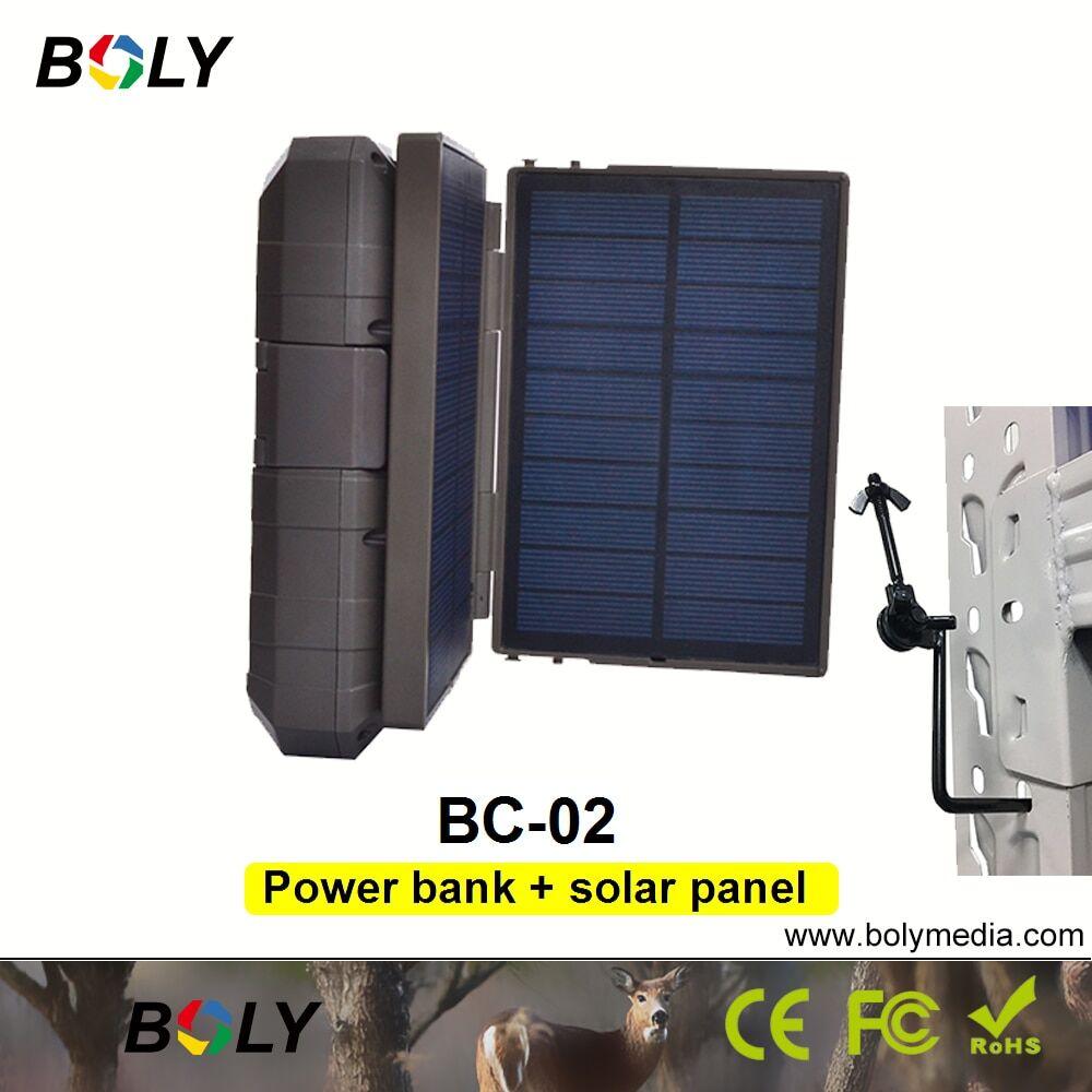 AliExpress Batterie d'alimentation Mobile avec panneau solaire, kit de chargeur, Boly chasse, caméras de