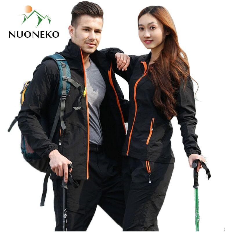 AliExpress Ensemble de vêtements de randonnée pour le Camping et le Sport en plein air pour hommes et femmes,