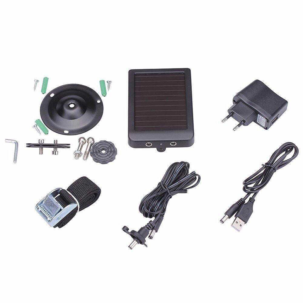 AliExpress Suntek – chargeur d'alimentation solaire externe, pour caméra de chasse HC300M HC350M HC550M HC550G