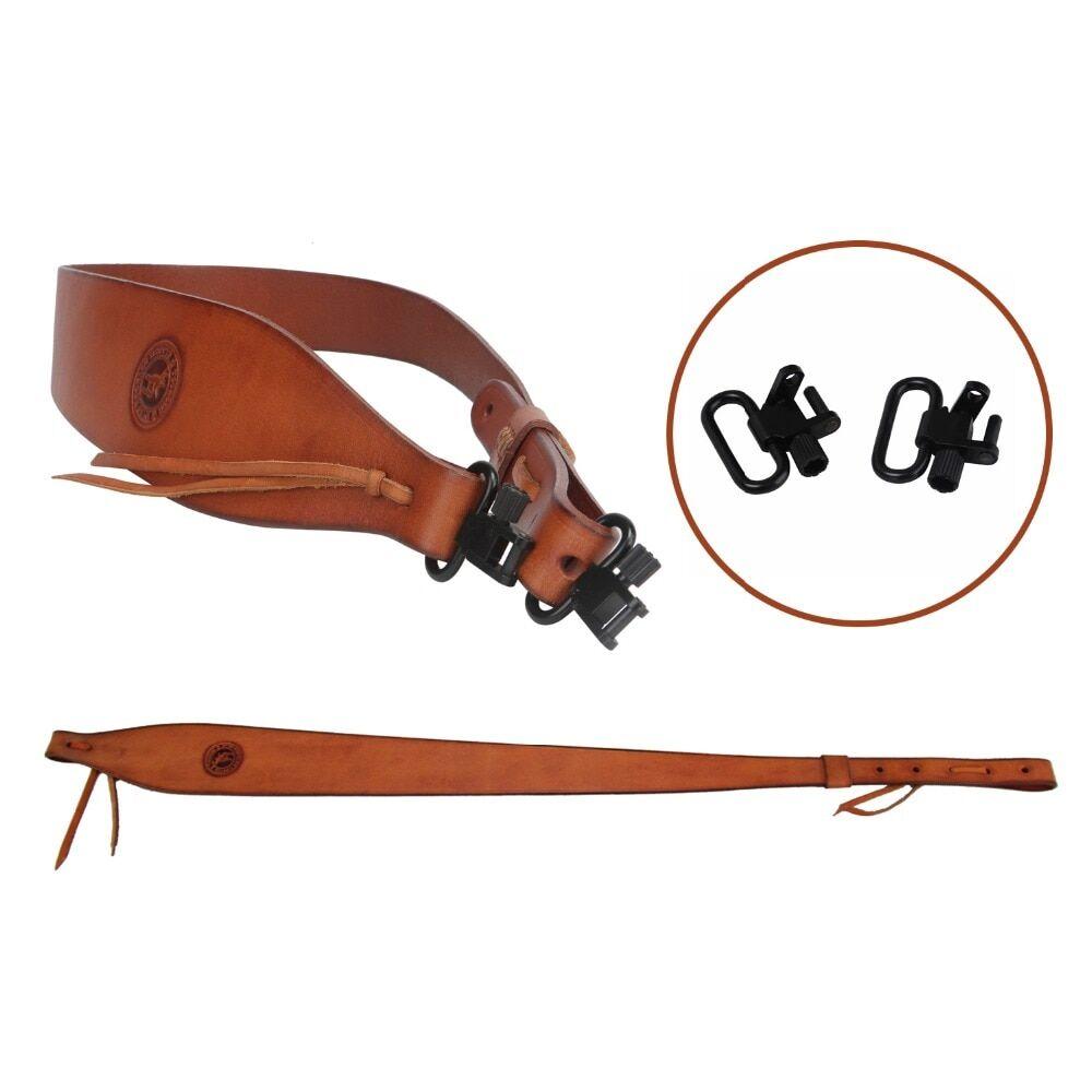 AliExpress charpe en cuir véritable pour fusil de chasse, Tourbon, ceinture avec pivots, sangle d'épaule pour
