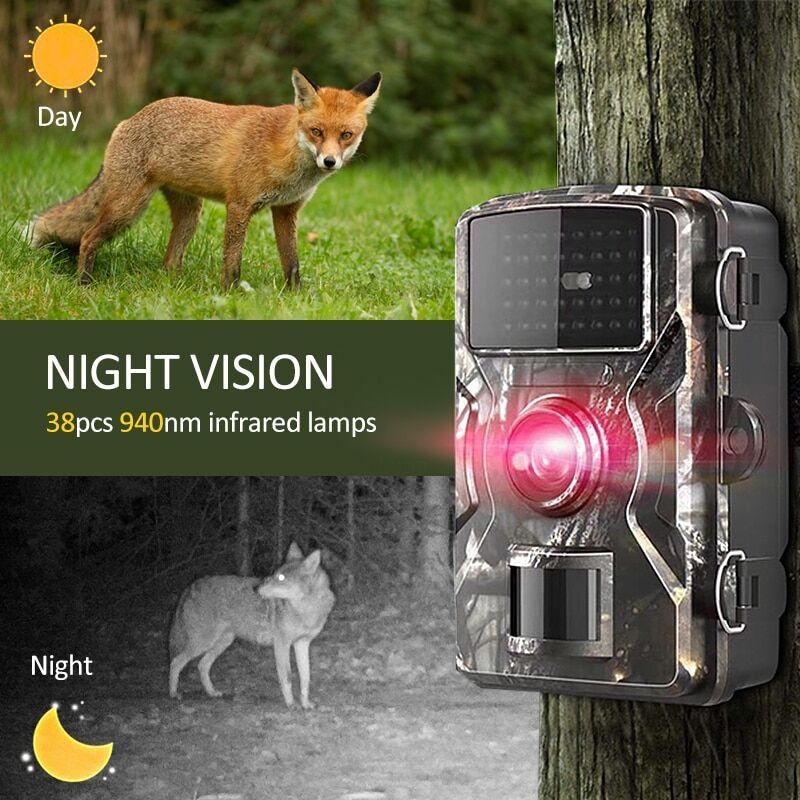 AliExpress Caméra de chasse et de suivi des sentiers du gibier, 12 mp1080p, sécurité activée par le mouvement,
