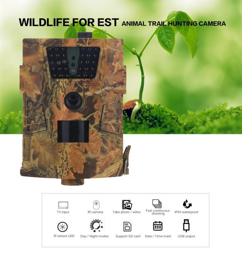 AliExpress Caméra de suivi des sentiers de la faune 2020 HT-001B, 12mp 1080P, 30 pièces, led à infrarouge,