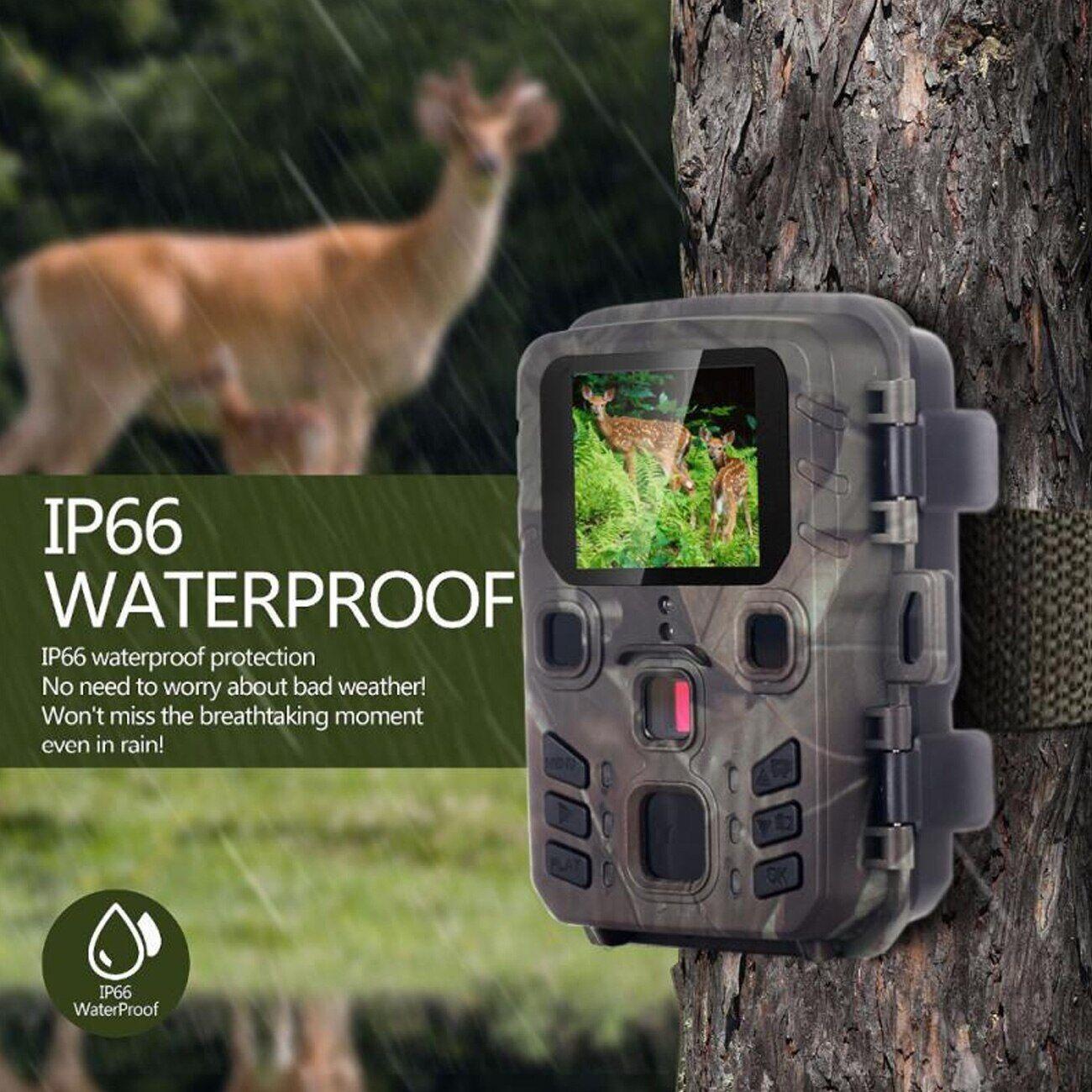AliExpress Caméra de chasse et de suivi des sentiers du gibier Mini301, piège Photo pour la chasse, 12mp,