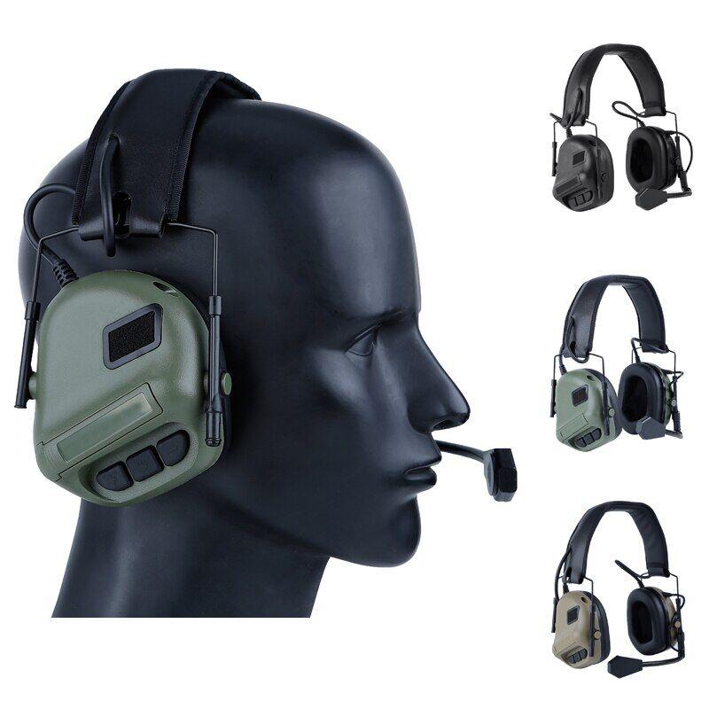 AliExpress Casques d'écoute tactiques de chasse, casque de Sport de plein air, casque de tir, casque de jeu CS