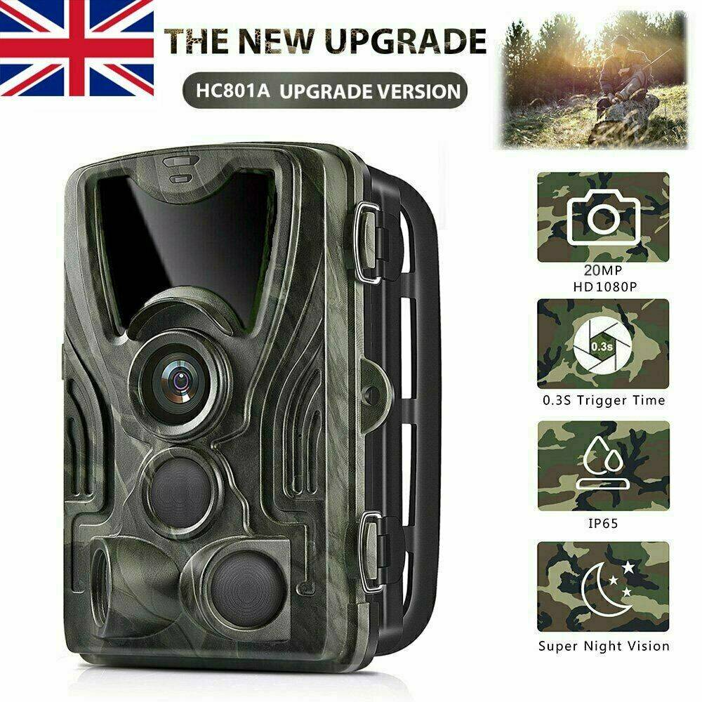 AliExpress Caméra de suivi des sentiers, 20mp, pour l'extérieur, la chasse, la faune, filtre IR, vision