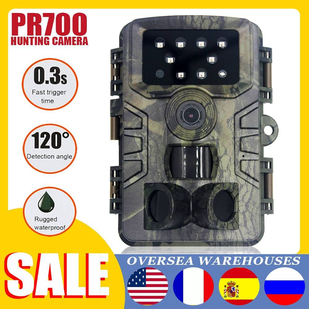 AliExpress Caméra de chasse et de suivi des sentiers, 20mp 1080P, infrarouge PIR étanche, avec Vision nocturne,