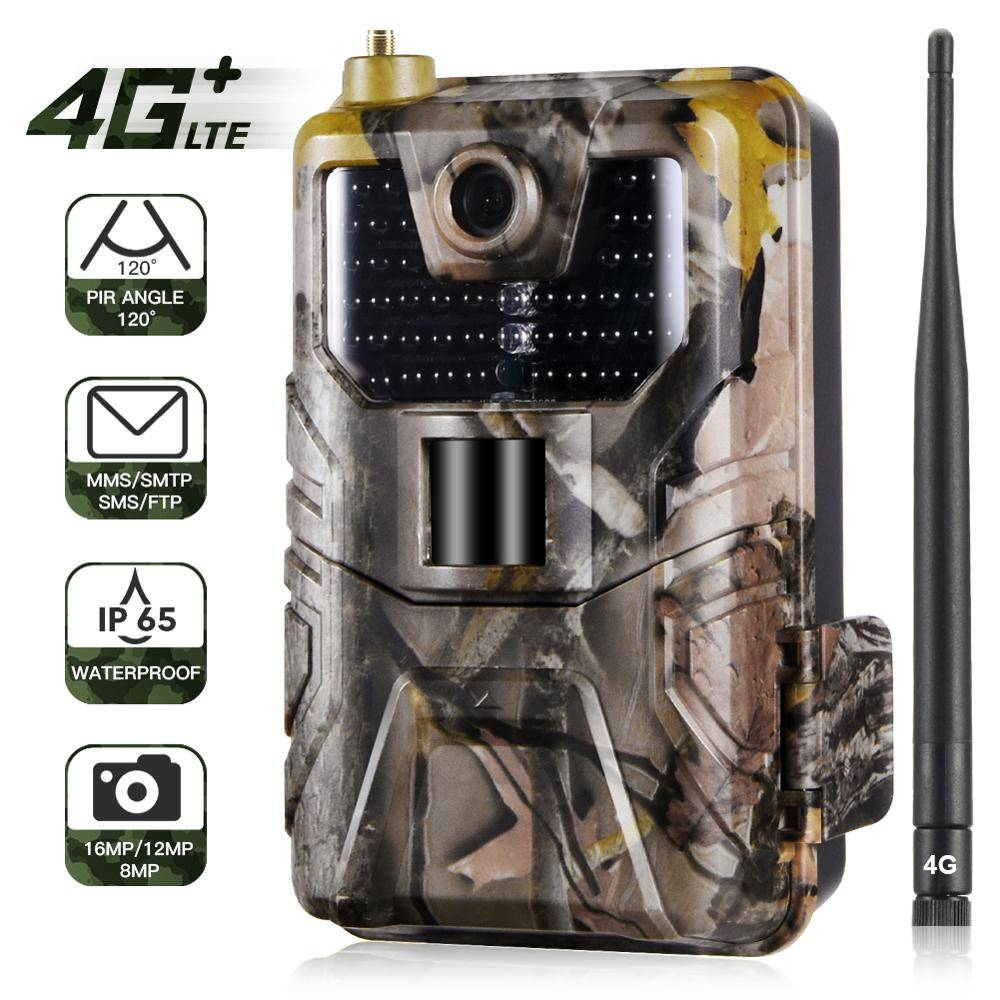 AliExpress Caméra de suivi des sentiers sans fil, 4G FTP SMTP MMS SMS Email, caméras de chasse pour la faune