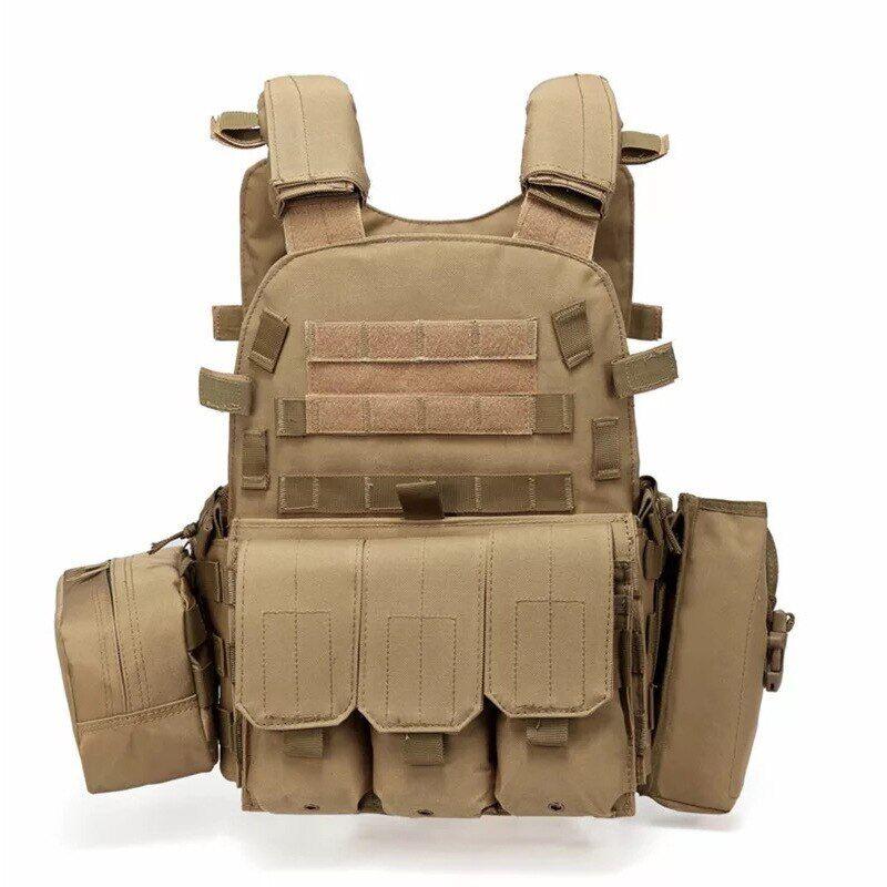 AliExpress Gilet de chasse tactique militaire, vêtements d'extérieur, soldat, Cs