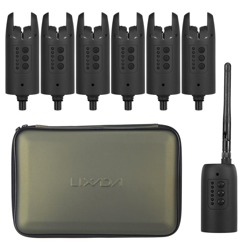 AliExpress Lixada – Kit d'alarme de pêche numérique sans fil, son de morsure, indicateur d'alarme de couleur