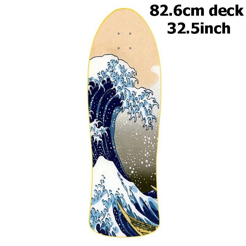 32.5inch surf Planche de Surf à 7 niveaux en érable canadien, 32.5 pouces, sculpture de qualité, bricolage de