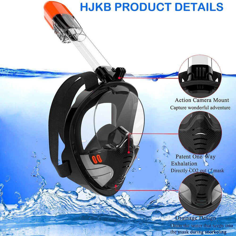 AliExpress Masque de plongée sous-marine pour adultes, hommes et femmes, Anti-buée, équipement de natation