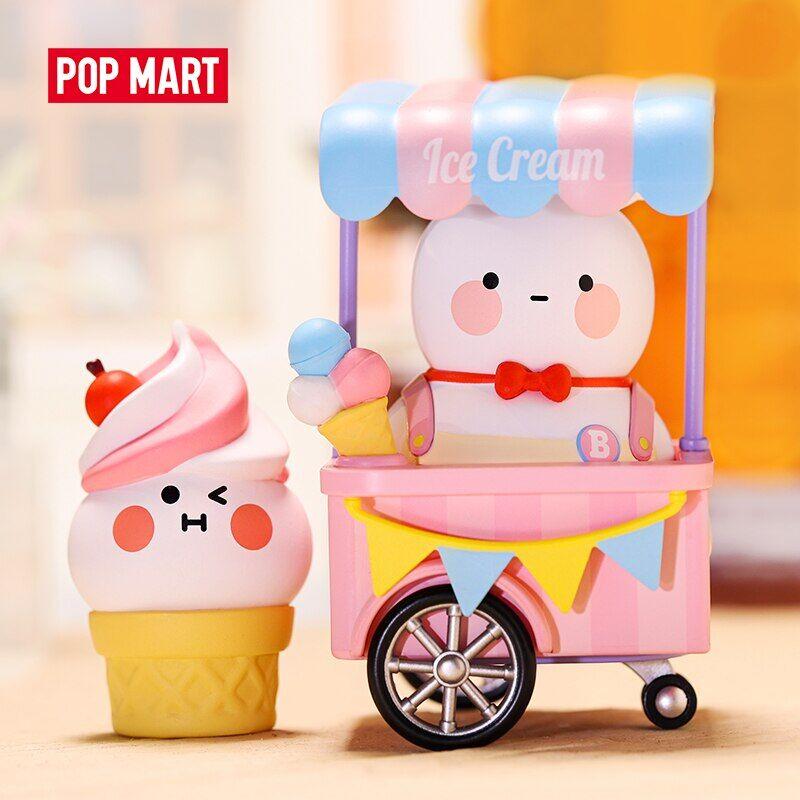 coco POP MART – poupée BOBO et COCO, série un petit magasin, boîte aveugle, figurine d'action, kawaii,