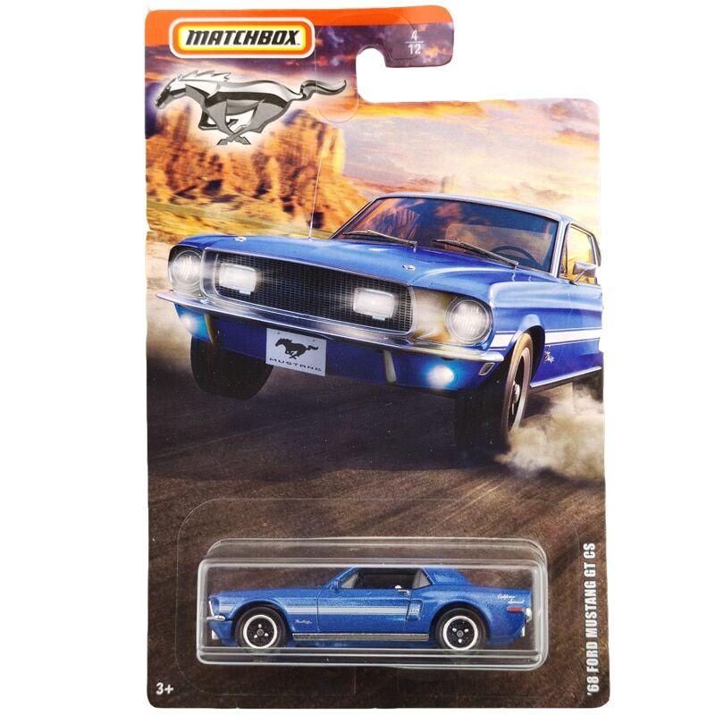 AliExpress Voiture 68 FORD MUSTANG GT CS, édition de collection, modèle en alliage moulé, jouet pour enfants,