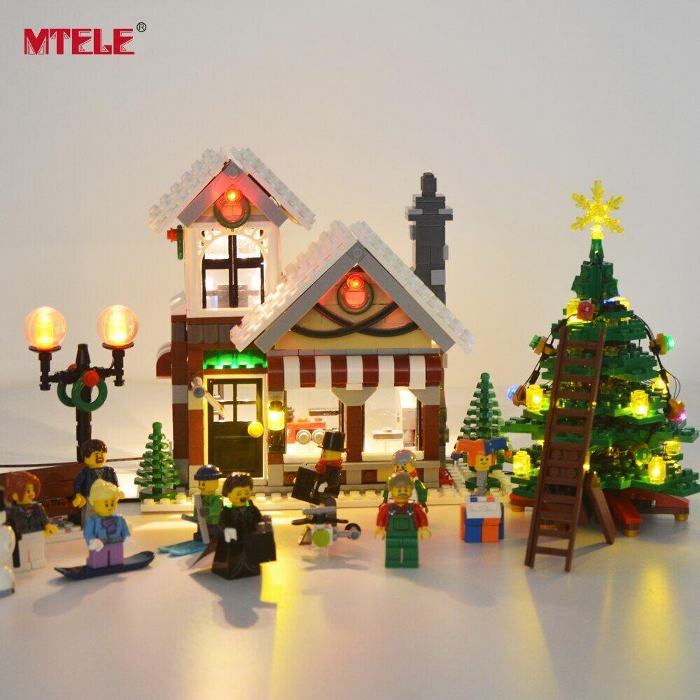 AliExpress MTELE – jeu de lumières Led pour magasin de jouets d'hiver 10249, Village