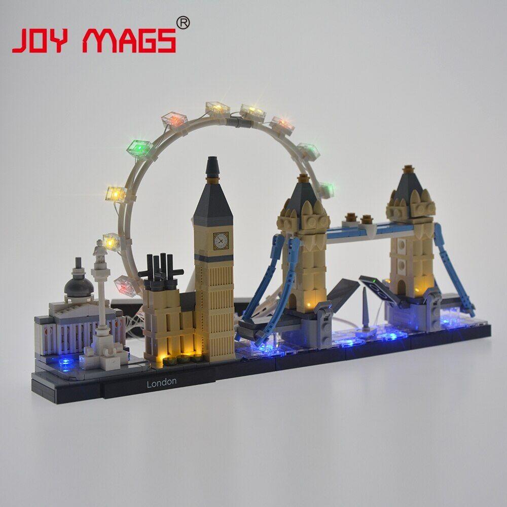 AliExpress JOIE MAGS Kit D'éclairage Led Pour 21034 L'architecture Londres, Pas de BLOCS de construction Modèle