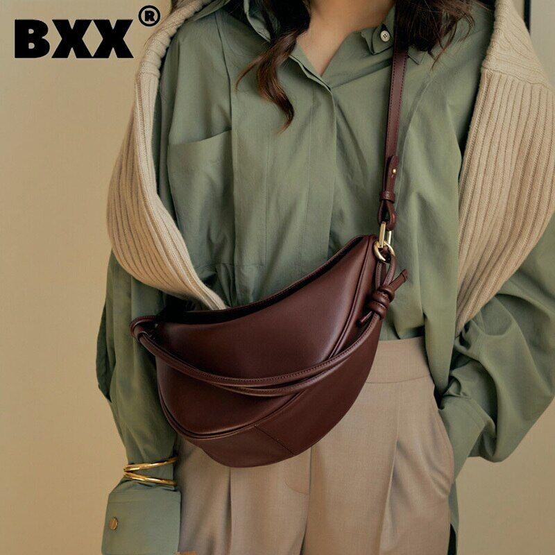 AliExpress BXX – sacs à main et bourses en cuir PU pour femmes, sac à bandoulière Simple de marque de styliste,
