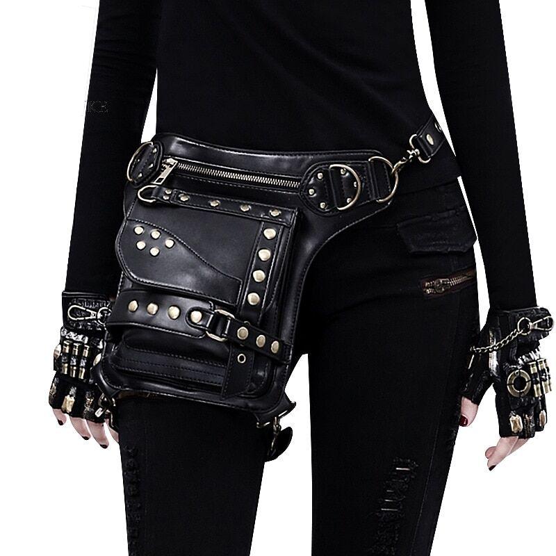 AliExpress Sac Vintage Steampunk pour femmes, sac rétro à vapeur Punk Rock gothique, sac Goth, sac à