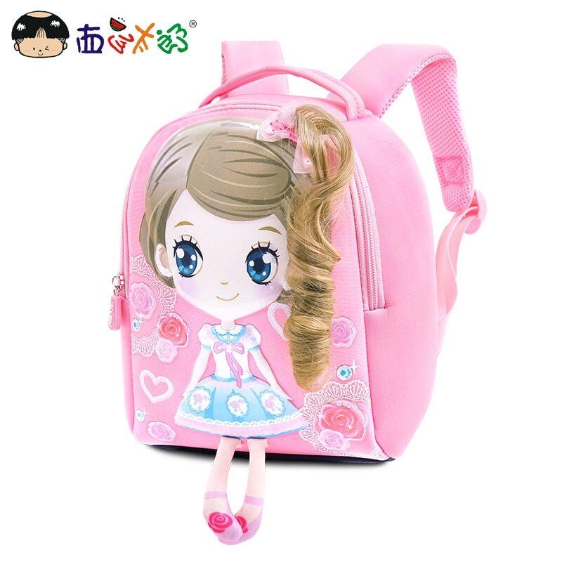 AliExpress MELONBOY – sacs à dos pour enfants, Mini sac d'école pour filles de 1 à 3 ans, petit sac à dessin