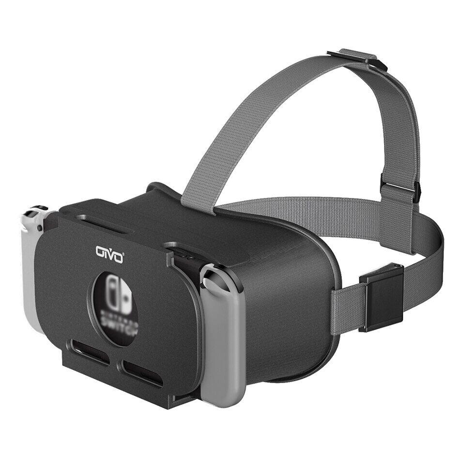 AliExpress OIVO – casque VR pour Nintendo Switch, grand objectif, films de réalité virtuelle, jeu, lunettes 3D