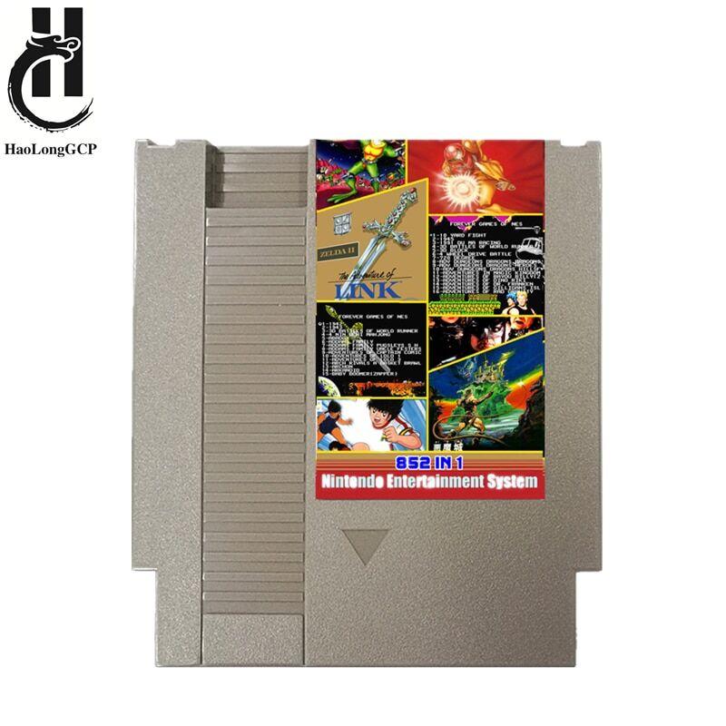 AliExpress Carte de jeu vidéo 8 bits, 852-en-1, 72 broches, pour console, sauvegarde de la progression, 1 go de