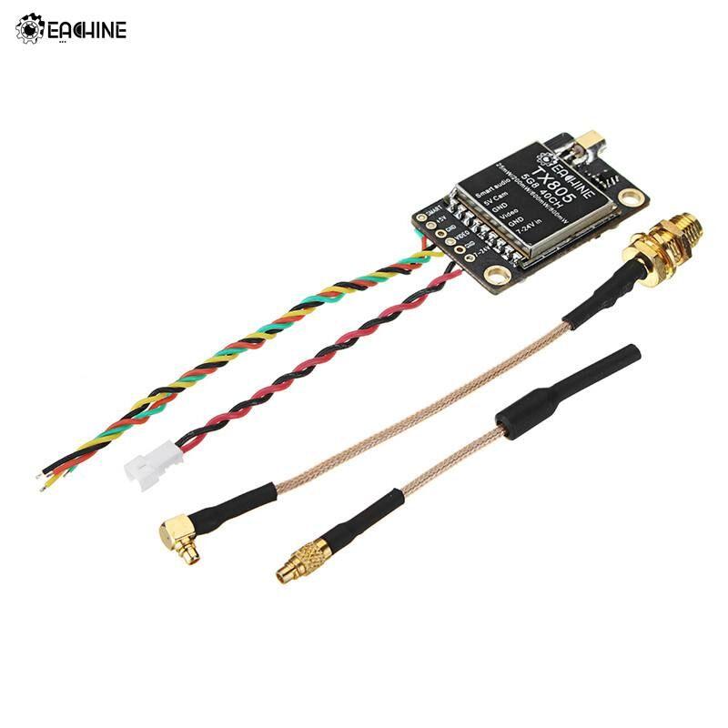 AliExpress Eachine — Transmetteur FPV TX805 5.8G 40CH 25/200/600/800 mW, émetteur support d'affichage LED VTX
