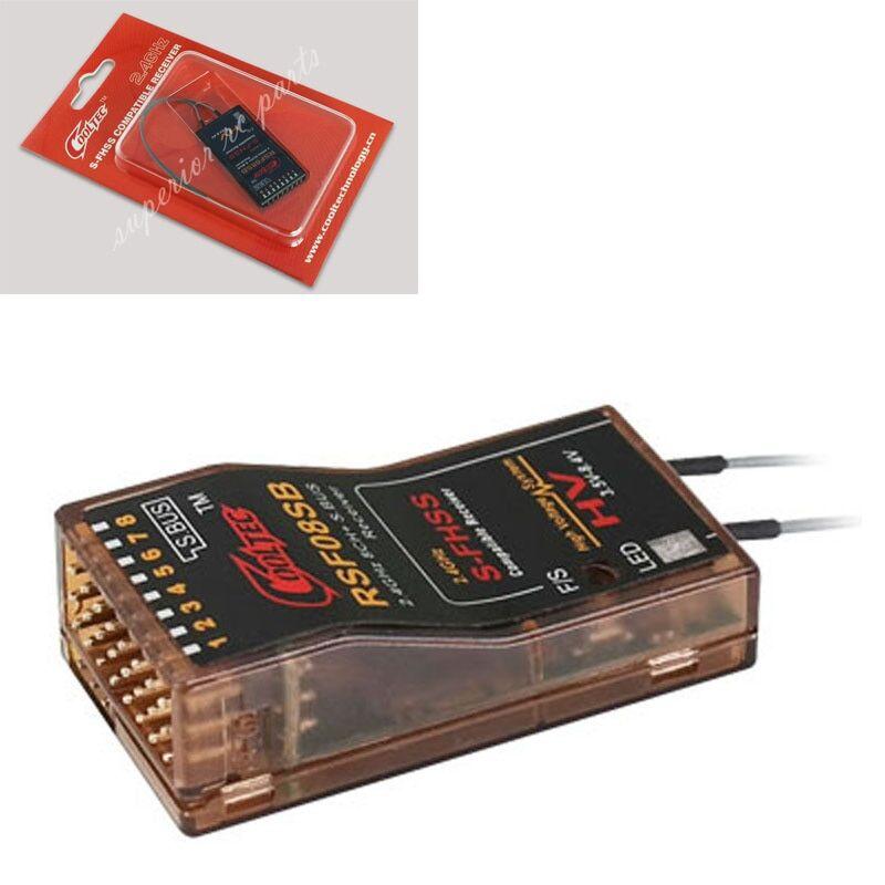 AliExpress RSF08SB 8ch Futaba S-FHSS S.BUS Récepteur Compatible pour 10J 8J 6K 6J 14sg 18MZ WC 18SZ Frsky Delta