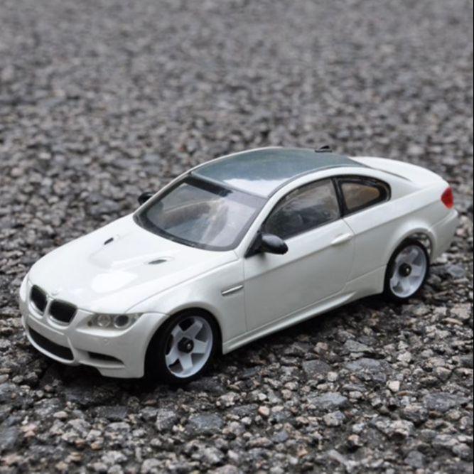 bmw Coque de voiture BMW M3, empattement de 102 mm pour voiture 1:28 RC Wltoys iw04m mini-q XRX DRZ