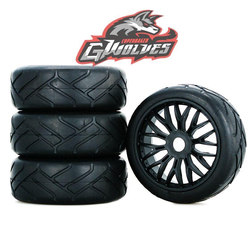 AliExpress GWOLVES – Buggy RC GT camion tout-terrain, piste de course sur route, pneu à haute adhérence, pneu