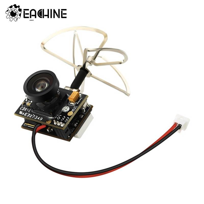 AliExpress Eachine – Mini caméra FPV TX02 originale, 3 en 1, AIO 5.8G 40CH 200mW VTX 600TVL 1/4 Cmos pour