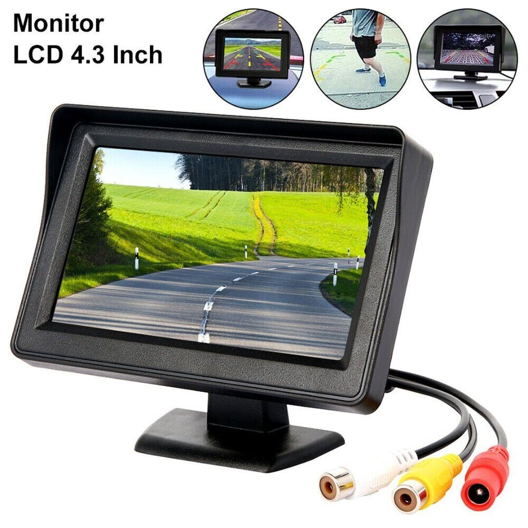 AliExpress cran LCD de 4.3 pouces pour voiture, moniteur de sauvegarde à vue arrière, pour stationnement en