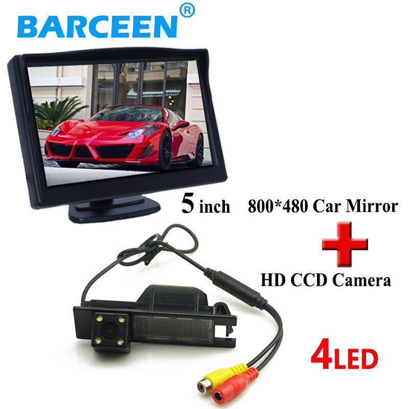 AliExpress Moniteur de sauvegarde avec écran lcd hd de 5 pouces + 4 caméras led pour Opel Astra H /Corsa D/
