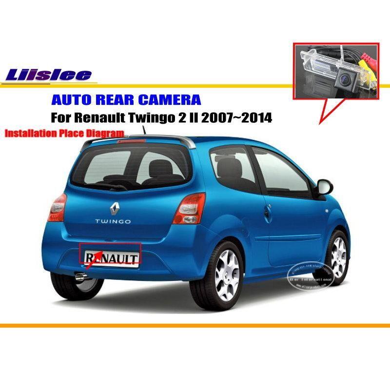 AliExpress Caméra de recul pour voitures Renault Twingo 2, caméra de sauvegarde inversée, HD pour véhicules