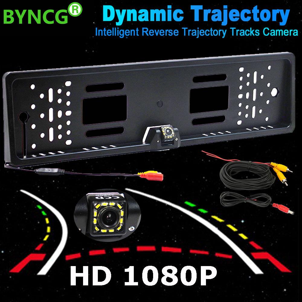 AliExpress BYNCG Dynamique Intelligent Trajectoire Pistes Par Sauvegarde Caméra Arrière 1080 p HD CCD Auto de
