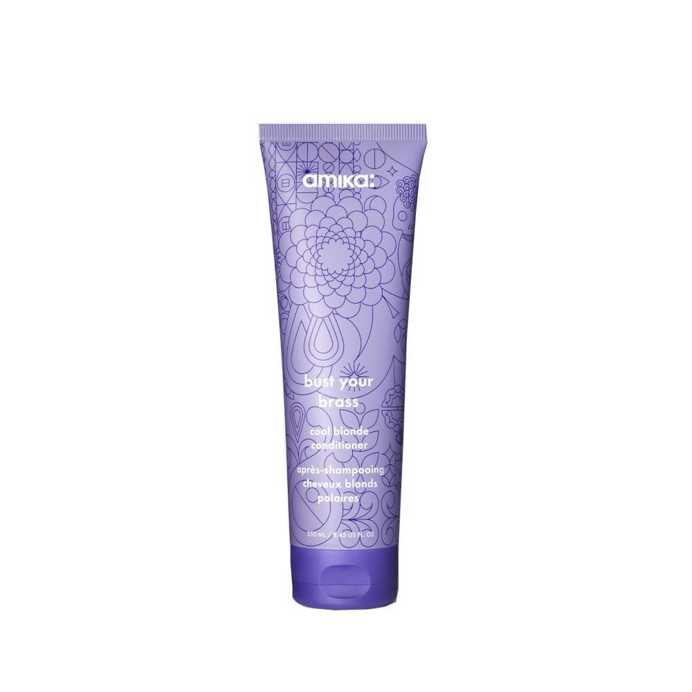 Amika: Après-Shampooing Cheveux Blonds Polaires Bust Your Brass Amika 250ml