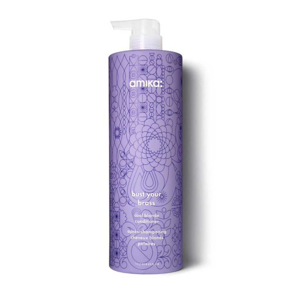 Amika: Après-Shampooing Cheveux Blonds Polaires Bust Your Brass Amika 1000ml