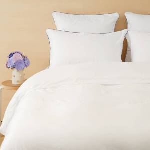 Tediber Parure de lit Tediber en satin coton 1 personne - Disponible en 4 coloris - Livraison express et retours gratuits - Publicité