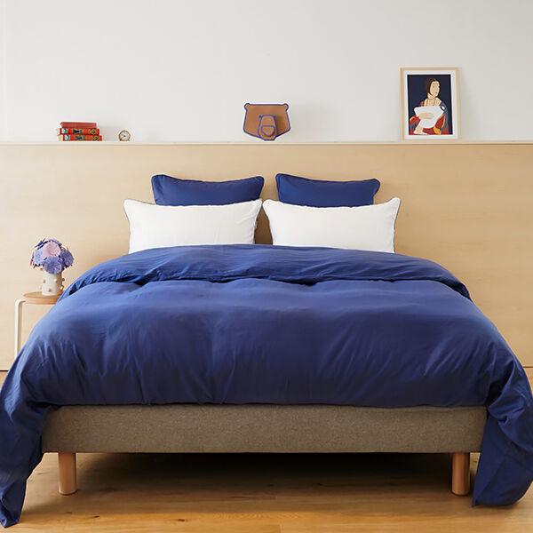 Tediber - Parure de lit adulte en satin coton - Disponible en 4 coloris - Livraison express et retours gratuits
