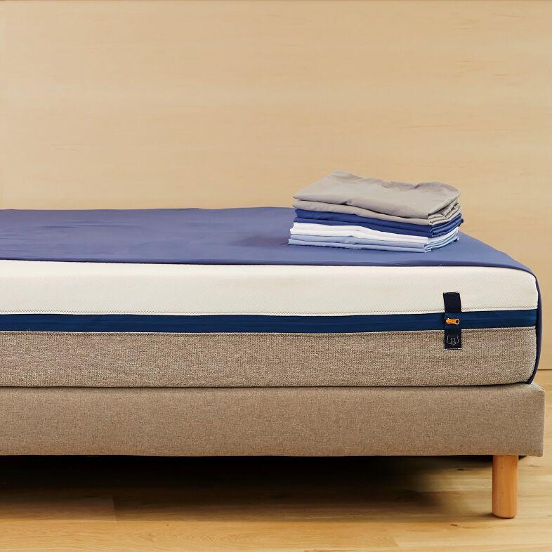 Tediber Drap housse satin coton lave Tediber dès 35€ - Disponible en 4 coloris - Livraison express et gratuite