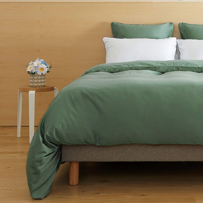 Tediber - Parure de lit 220x240 en satin coton - Disponible en 4 coloris - Livraison express et retours gratuits