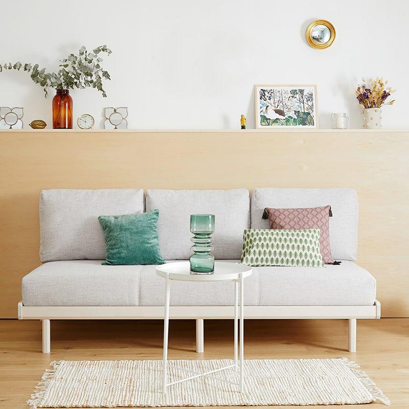 Tediber La Banquette-lit Tediber crème - Confort parfait assis et couché - Livraison gratuite - Paiement en 3x et 12x