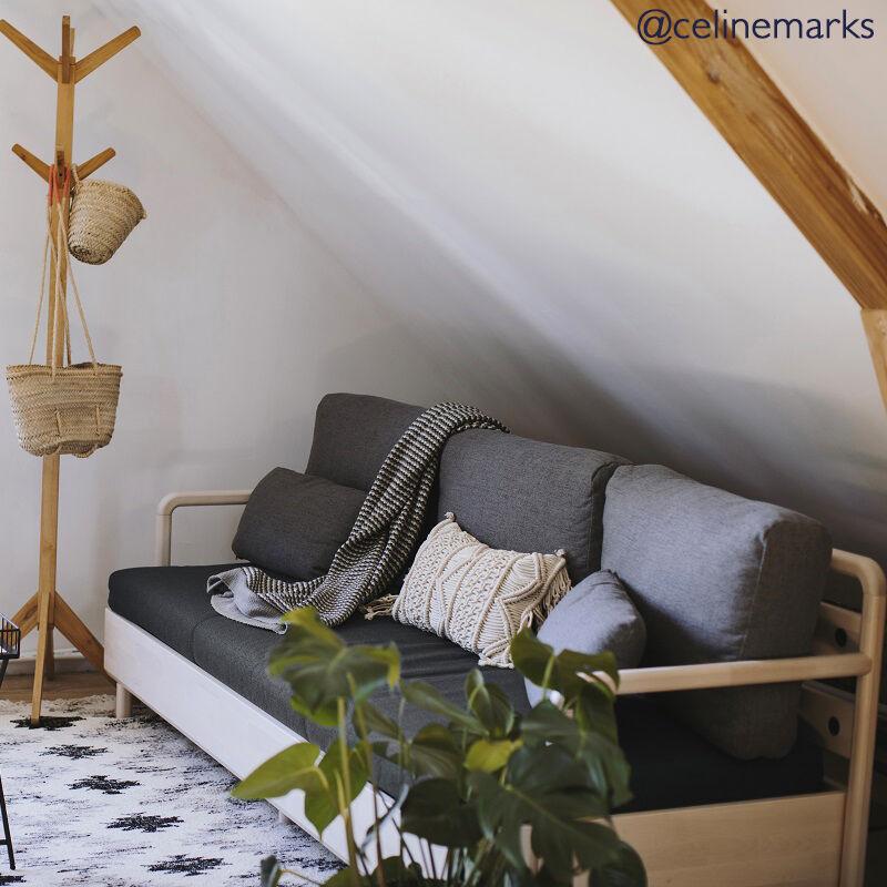 Tediber Incroyable canapé-lit gris - Livraison offerte - Paiement 3x ou 12x - 100 nuits d'essai