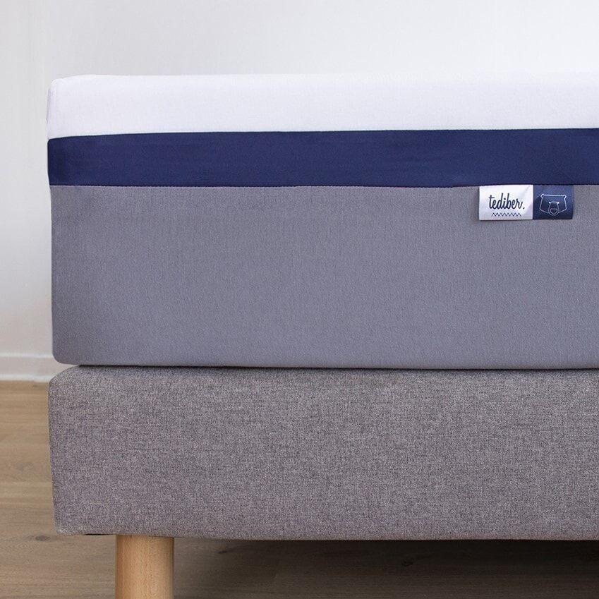 Tediber Protège matelas Tediber 160x200 - imperméable, doux et respirant - Fabriqué en France - Livraison gratuite en express -