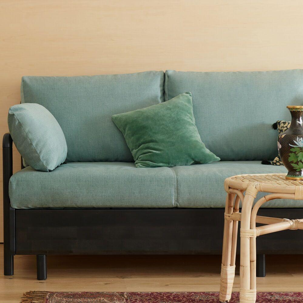 Tediber Canapé lit vert - Livraison et retours gratuits - Personnalisable - Paiement en 3x ou 12x
