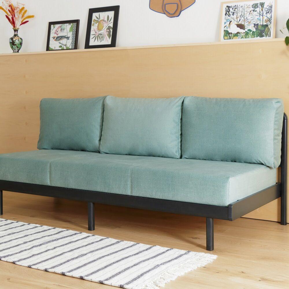 Tediber La Banquette convertible verte Tediber - Confort parfait - Personnalisable - Livraison et retours gratuits