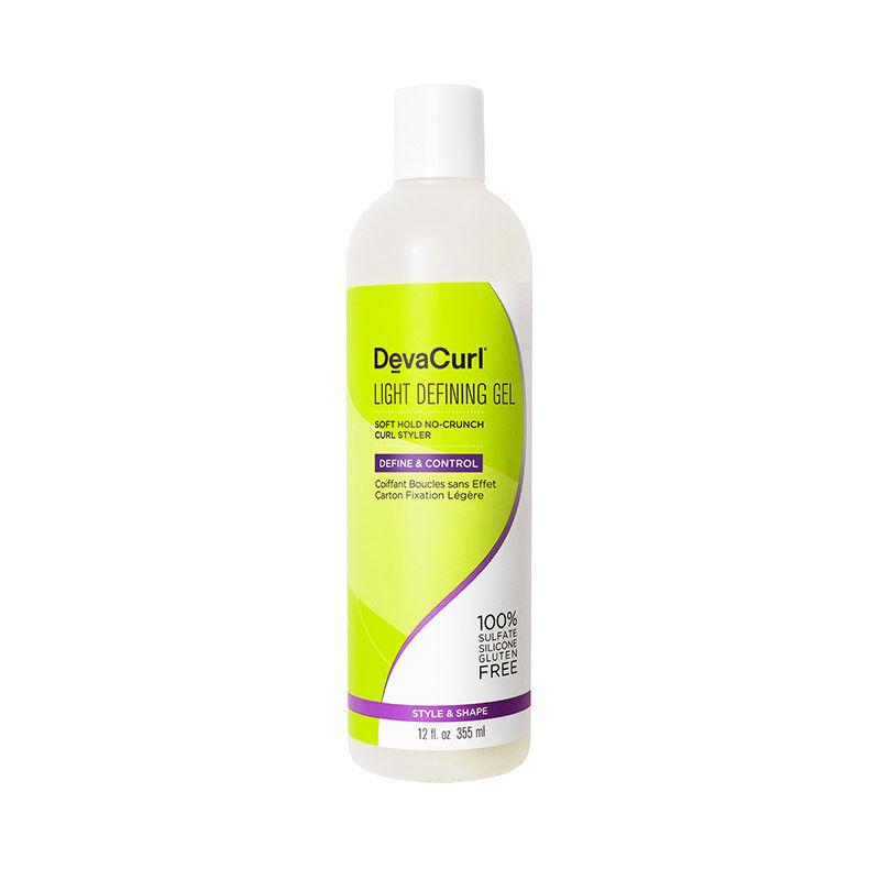 DevaCurl Light Defining Gel coiffant fixation legère boucles