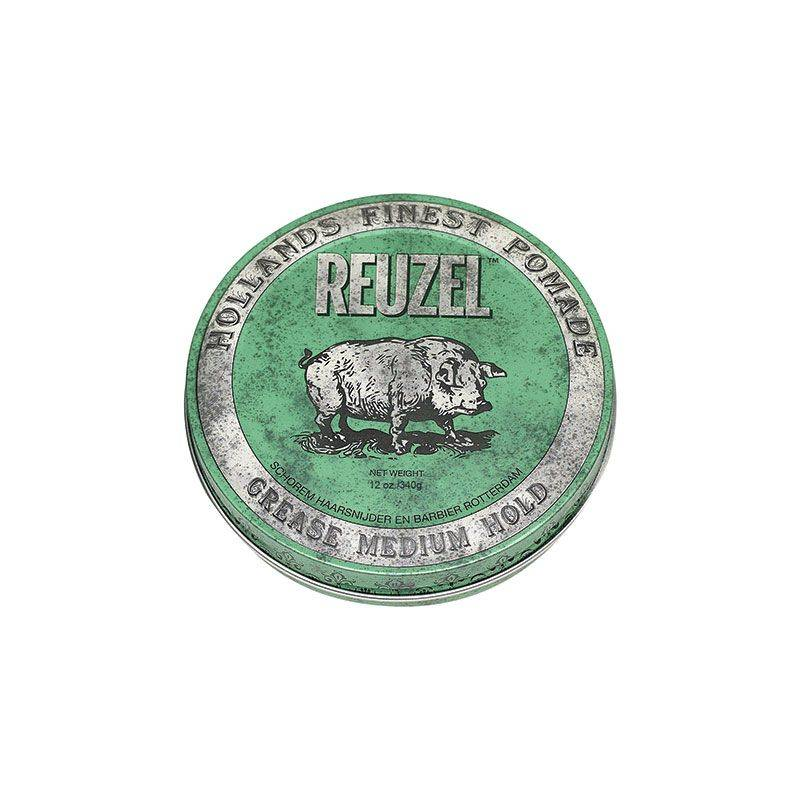 Reuzel Cire pour cheveux fixation moyenne - Green grease pomade 340g