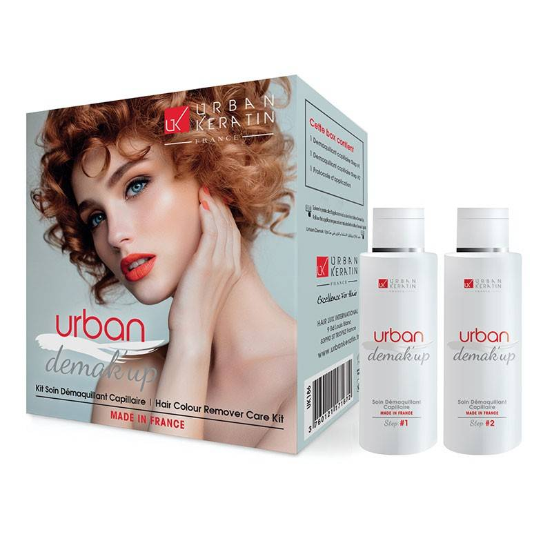 Urban Keratin Kit démaquillant capillaire Urban Demak'Up