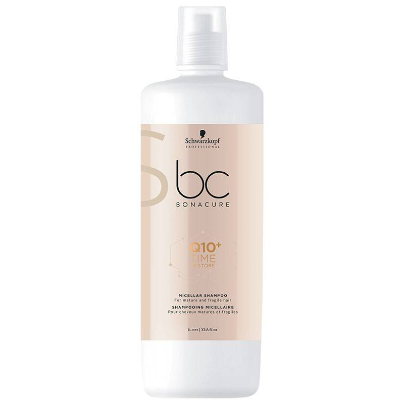 Schwarzkopf Professional Shampooing micellaire Q10 Time Restore