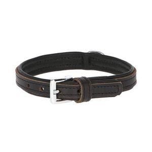 KERBL Collier pour Chien en Cuir Noir - Combinaison Largeur et Taille: Largeur - 35 mm, Taille - 50 - 58 cm - Publicité