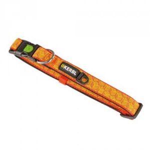 KERBL Collier pour chien Réfléchissant - Collier fluo - Combinaison Largeur et Taille: Largeur - 20 mm, Taille - 40 - 55 cm - Publicité